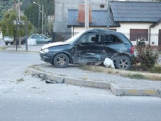 Accidente en Esquel.
